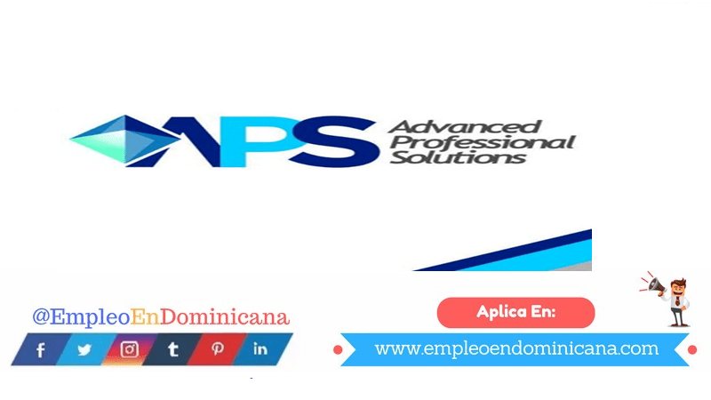 vacantes de empleos disponibles en APS aplica ahora a la vacante de empleo en República Dominicana