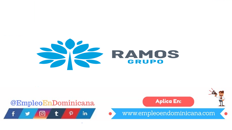 Trabajo en Grupo Ramos disponibles en Grupo Ramos aplica ahora a la vacante de empleo en República Dominicana