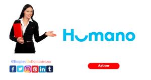 nueva vacante de empleo en grupo humano república dominicana