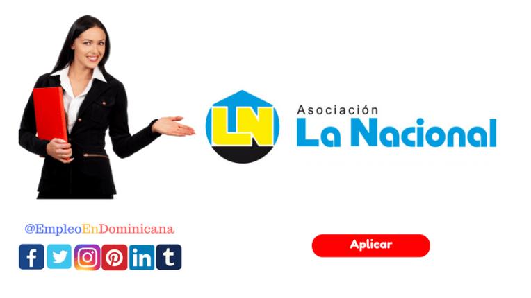 Atención Vacante de trabajo como Cajero en Asociación La Nacional De Ahorros Y Préstamos empleo en asociación la nacional