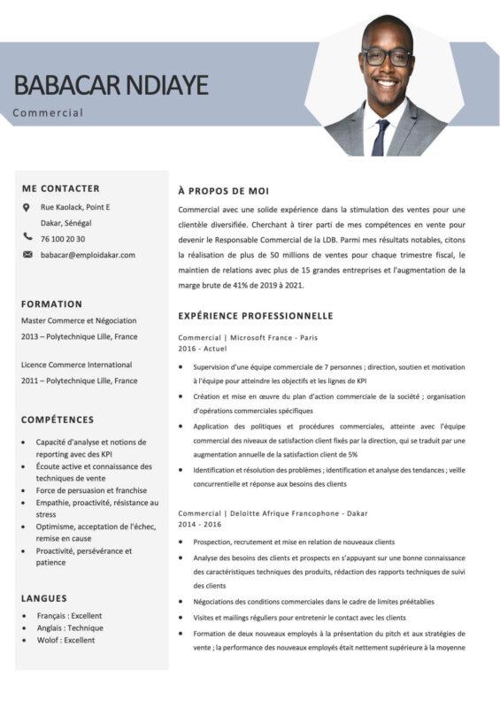 CV Commercial