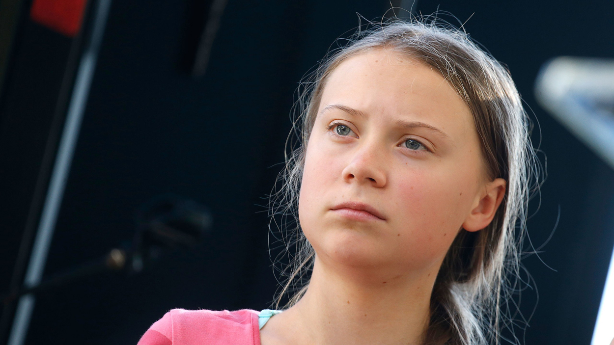 Greta Thunberg - intelligence naturaliste