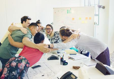qualité de vie au travail - travail d'équipe