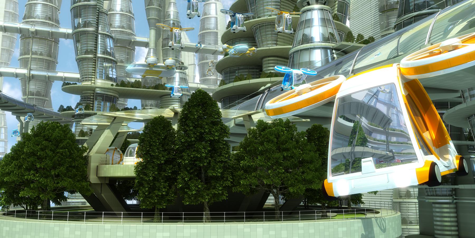 véhicules autonomes volants