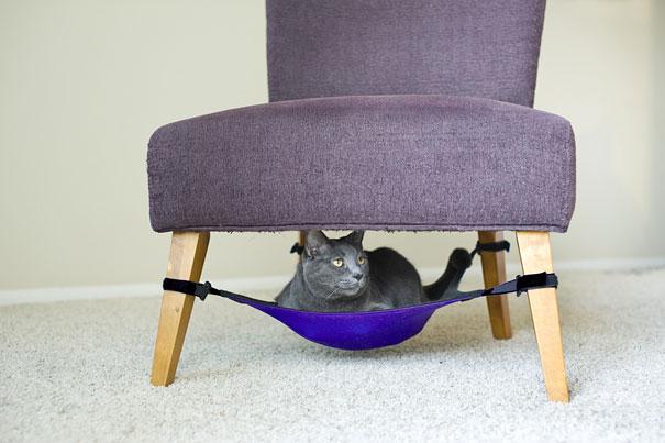 Le hamac pour chat