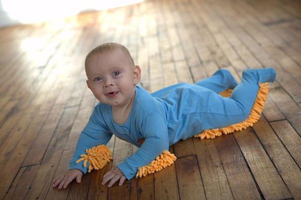 La moppe de bébé