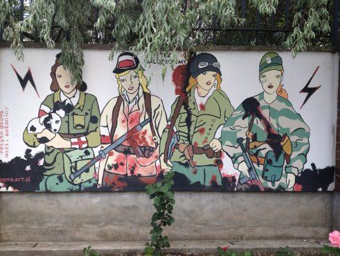 Warsaw Street Art - Uprising Museum