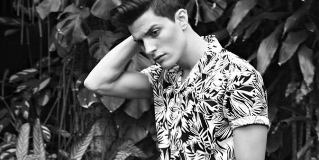 Men's Floral Print Trend 2014