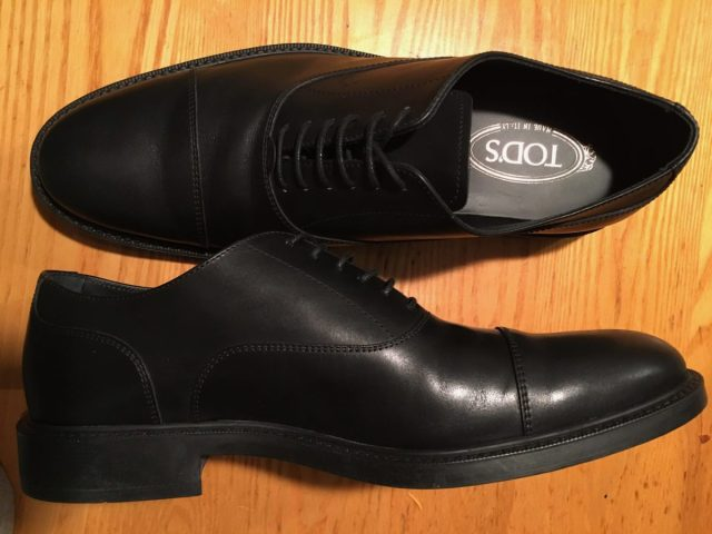 Tod's Cap Toe Oxford