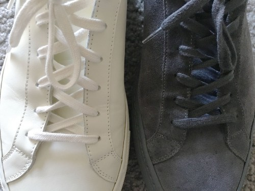 Suede or Leather?