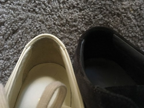 Back Heels of Common Projects Achilles Low