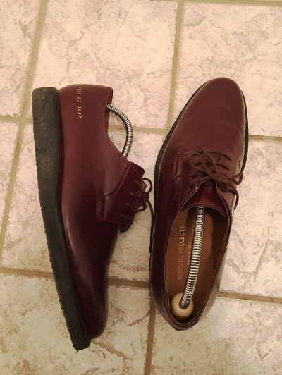 Common Projects Derby Shine Review