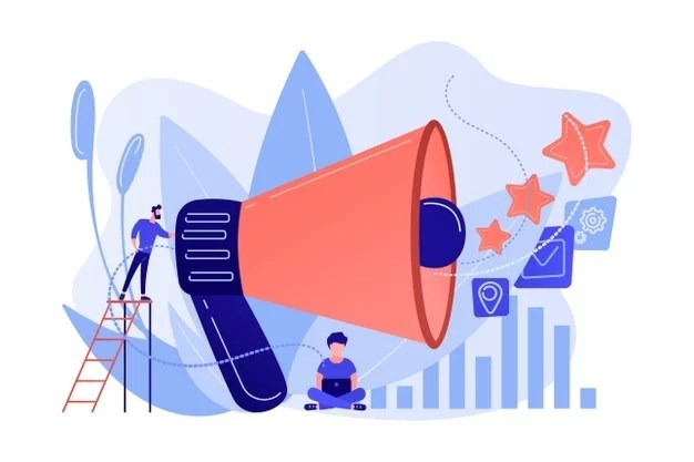 businessman-with-megaphone-promote-media-icons-sales-promotion-marketing-pomotion-strategy-promotional-products-concept-white-background_335657-2045