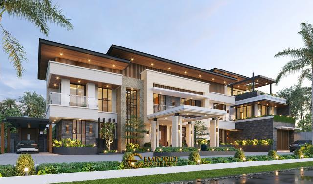 Desain Rumah Mewah dan Modern Terbaru