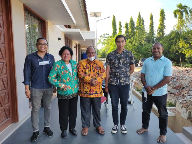Architect Bali Team Visit to Mr Nonce Project in Papua