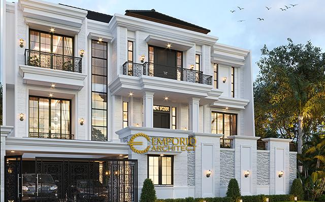 Mr. Daniel Danuta Kurniawan Classic House 3 Floors Design - Jakarta Selatan