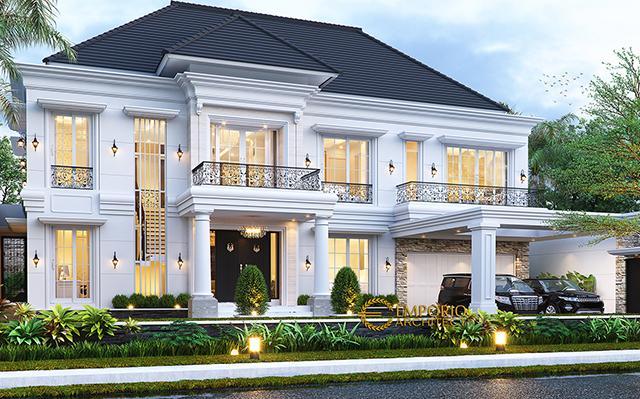 Mr. Axcel Classic House 2 Floors Design - Palangka Raya, Kalimantan Tengah