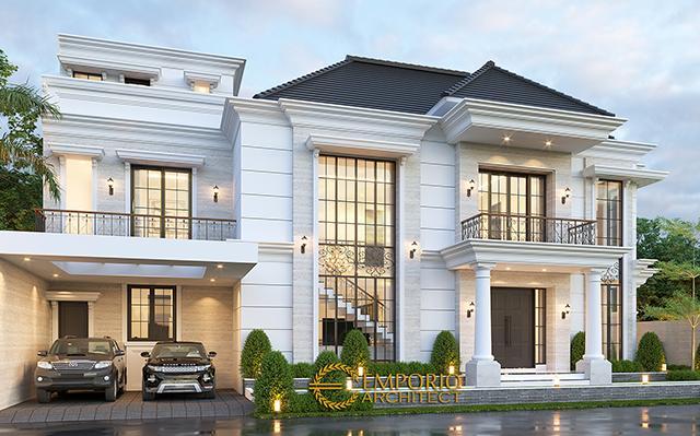 Mr. Toni Classic House 2.5 Floors Design - Medan, Sumatera Utara