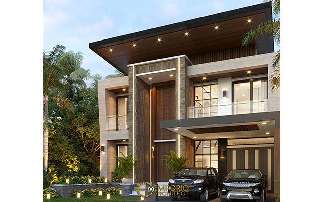 Desain Rumah Modern 2 Lantai Bapak Fredy di  Makassar, Sulawesi Selatan