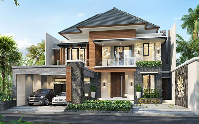 Mrs. Asty Modern House 2 Floors Design - Ponorogo, Jawa Timur