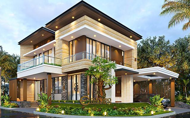 Mrs. Mia Modern House 2.5 Floors Design - Jakarta Timur