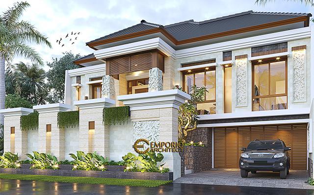 Mrs. Srie Villa Bali House 2 Floors Design - Bekasi, Jawa Barat