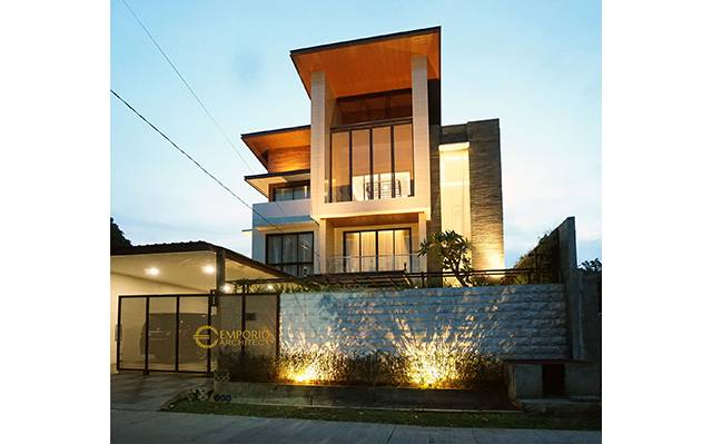 Construction Result of Mr. Arnold II Private House - Jakarta