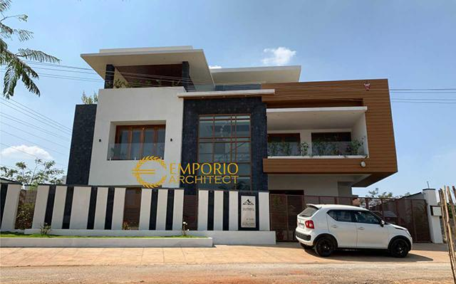 Construction Result of dr. Kailash Prabudev Private House - Bangalore, India