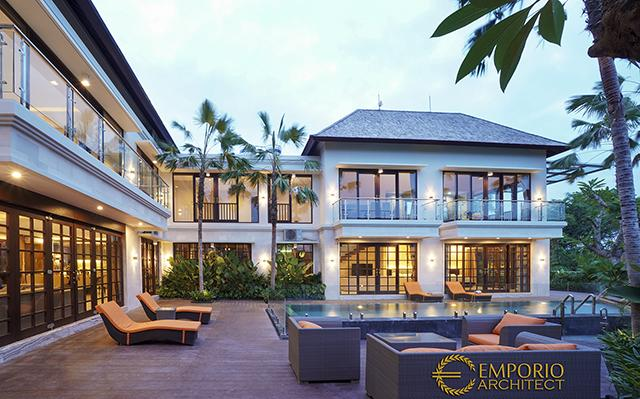 Rumah Style Villa Bali Bapak Ida Bagus Bhanutama, Owner Emporio Architect di  Gianyar, Bali