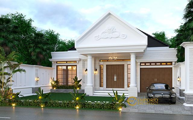 Desain Rumah Classic 1 Lantai Bapak Abdullah di  Bandung