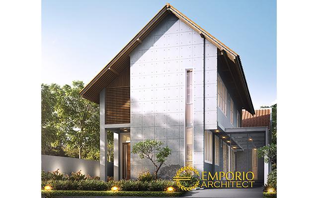 Desain Rumah Modern 2 Lantai Bapak Fajar di  Bandung