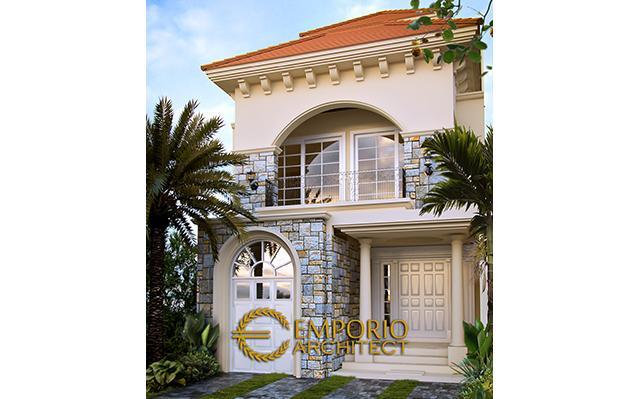 Mr. Zulfikar Aditya Mediterranean House 2 Floors Design - Jakarta