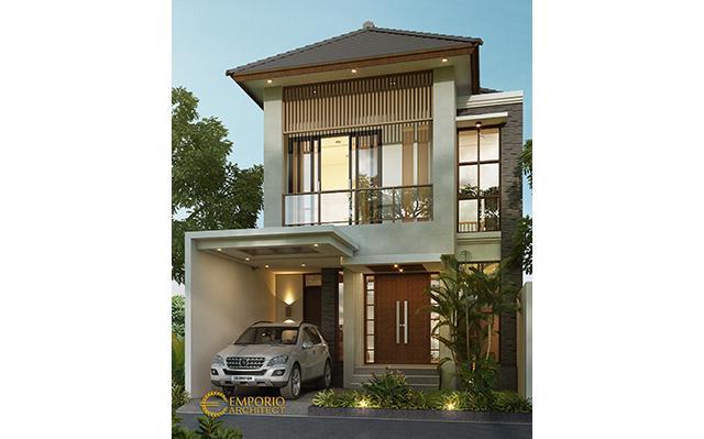 Mr. Utomo Modern House 2 Floors Design - Jakarta