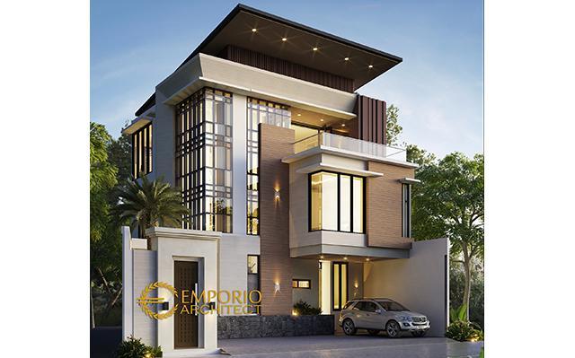 Mr. Yanuarso Modern House 3 Floors Design - Jakarta