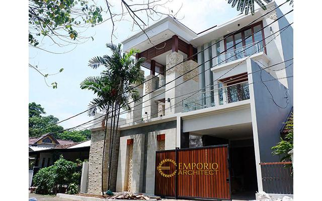 Hasil Konstruksi Rumah Bapak Nursantyo di  Jakarta