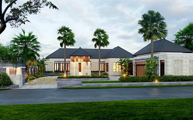 Mr. Fahrul Villa Bali House 1 Floor Design - Maluku