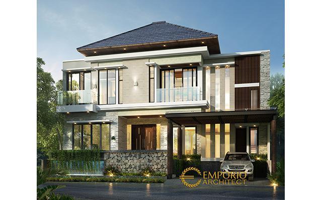 Mrs. Desi Modern House 2 Floors Design - Tangerang