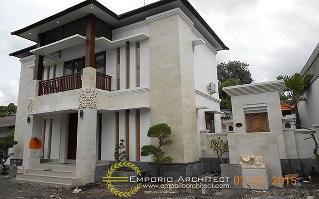 Construction Result of Mr. Apang Private House - Gianyar, Bali