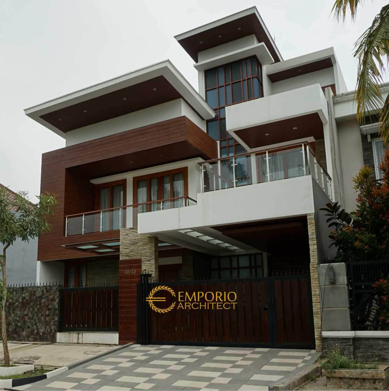 Construction Result of Mr. Andrika Private House - Tangerang