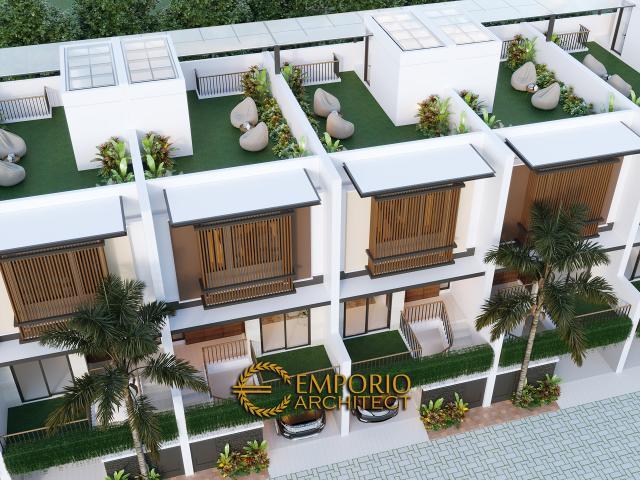 Desain Master Plan Cluster Modern 3 Lantai Royale Indah Kapuk Cengkareng di Jakarta Barat