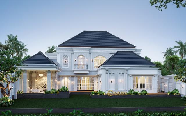 Mr. Mubin Classic House 2 Floors Design - Bengkulu