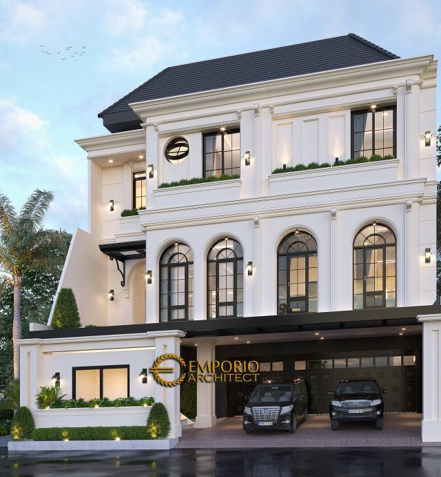 Desain Rumah Mediteran 1