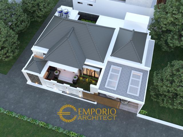 Desain Masterplan Rumah Modern 1 Lantai Bapak Rofi di Medan, Sumatera Utara