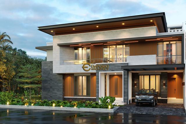 Mr. Ben Modern House 2 Floors Design - Cibubur, Jawa Barat