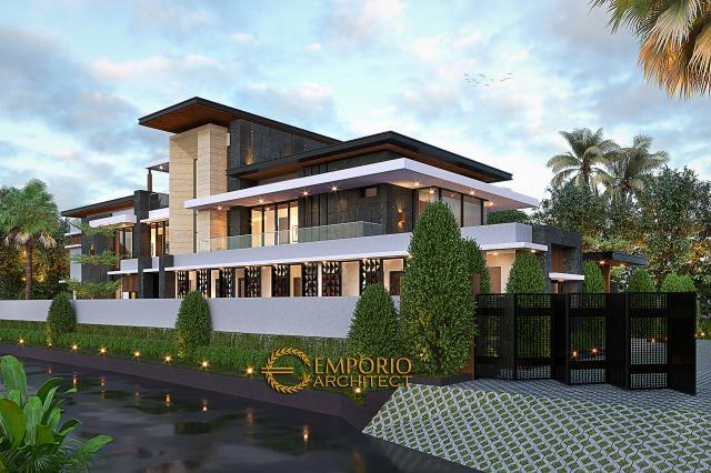Mrs. Sisca Modern House 2 Floors Design - Bogor, Jawa Barat