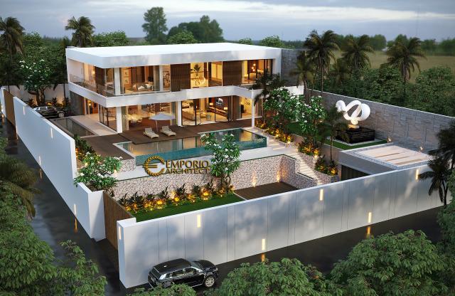 Desain Master Plan Rumah Modern 2 Lantai Bapak Rahimi di Manado, Sulawesi Utara