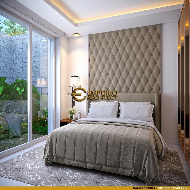 Desain Kamar Tidur 4 Rumah Modern 2.5 Lantai Bapak Aris di Bandung, Jawa Barat