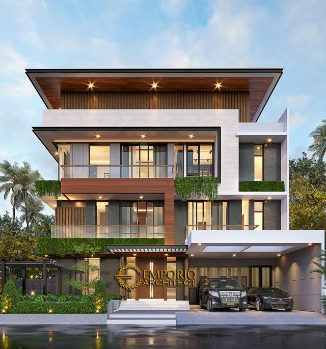 Mr. Leo Modern House 3 Floors Design - Jakarta Utara