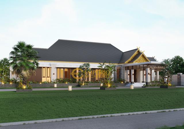 Desain Tampak Depan Rumah Tradisional 1 Lantai Ibu Mila di Jambi