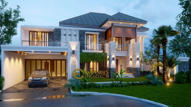 Mr. Budi Villa Bali House 2 Floors Design - Bekasi
